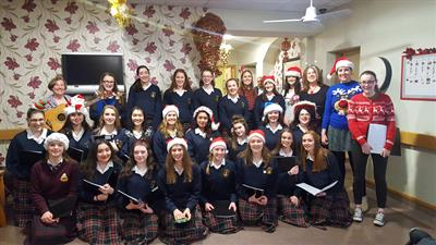 Marymount Carol Singing