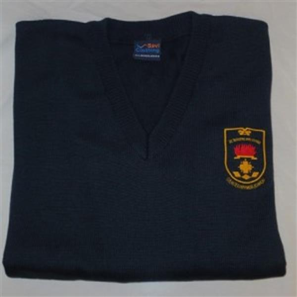 Navy Jumper Collection for Transition Year Students