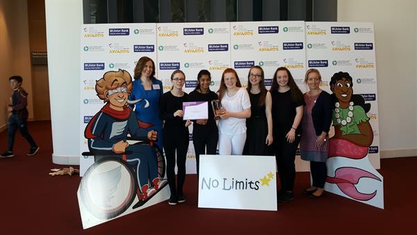 'No Limits' won the Silver Award today at the YSI Final!