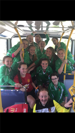 Congratulations to the 1st Year Soccer Team who have made it through to the semi-final of the Leinster League.