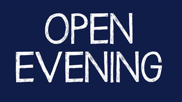 Open Evening 2019