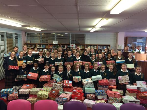 Team Hope Shoe Box Appeal