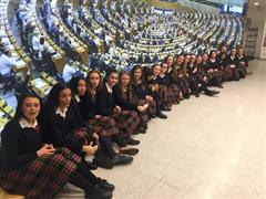 Trip to European Parliament, Brussels