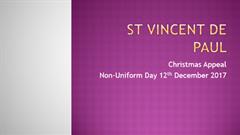St. Vincent de Paul Christmas Appeal