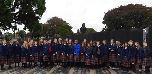 TY History Students Visit Glasnevin Cemetery