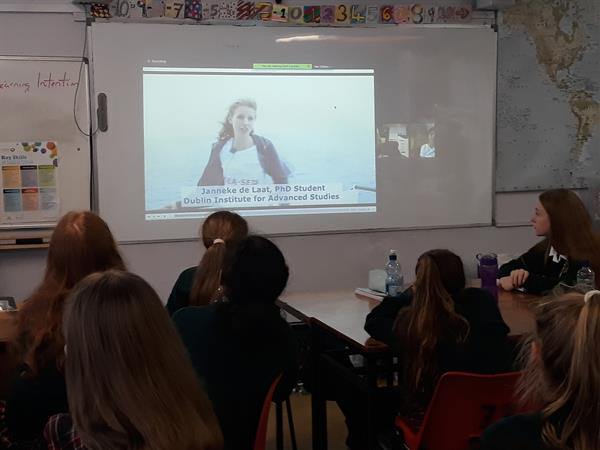 Celtic Explorer Video-Link to our Geography students