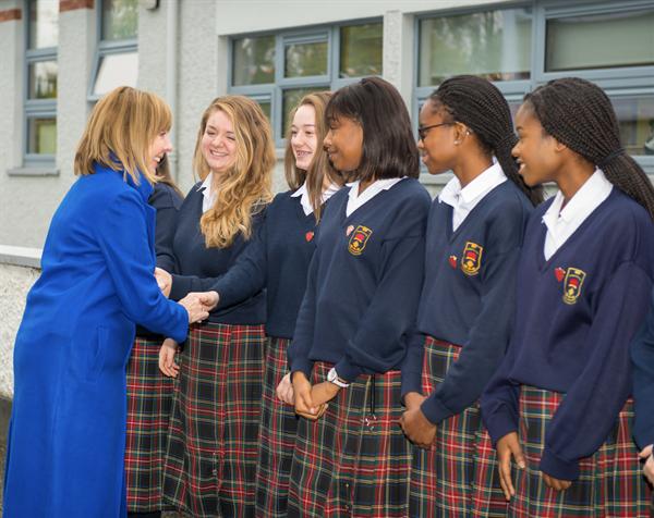 Senator Joan Freeman visits St Joseph's
