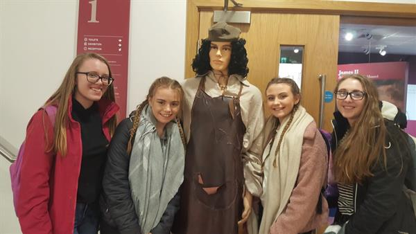 SENIOR HISTORY TRIP TO DERRY