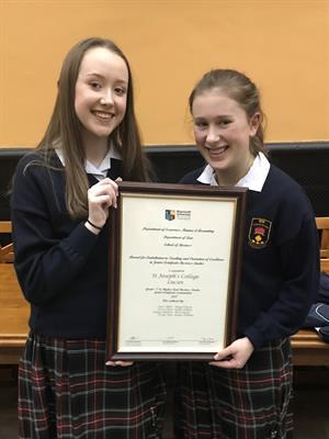 Junior Certificate Business Awards