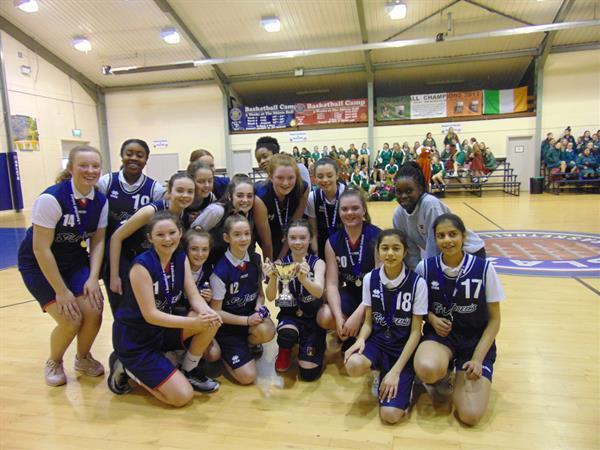 1st Year Basketball Team Win Dublin Final.