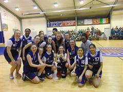 1st Year Basketball Team Win Dublin Final.