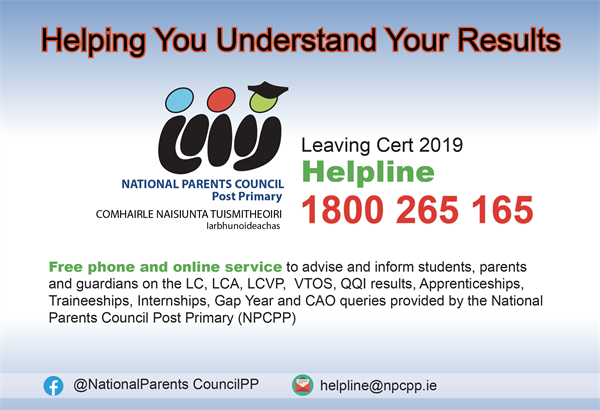 Leaving Cert Helpline