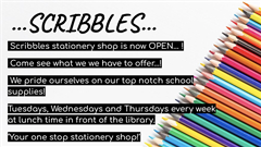 SCRIBBLES STATIONARY