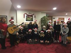 Carol Singing at Marymount