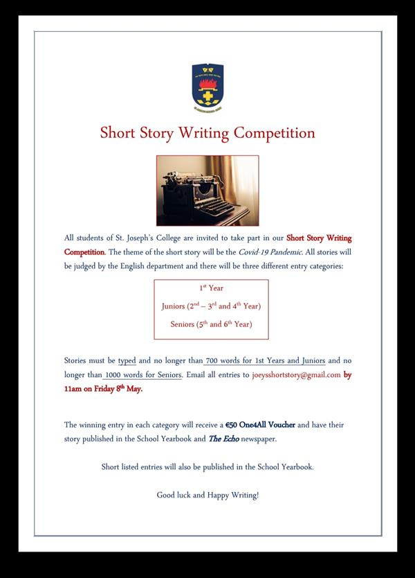 Short Story Writing Competition!