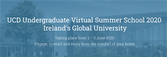 UCD Virtual Summer School 2020