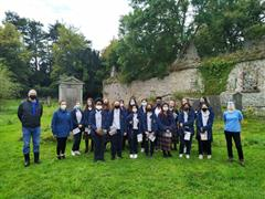 TY students visit the Church of the Blessed Virgin